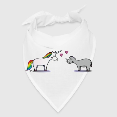 Unicorn and Rhino - Bandana