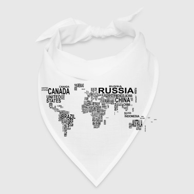 World Map - Bandana