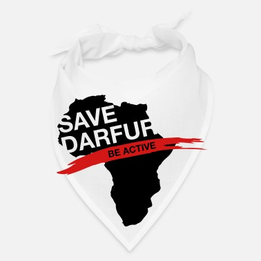 Conflict Save Darfur. Be active! - Bandana