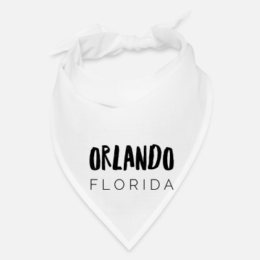 Florida Palm Tree Orlando Florida - Bandana