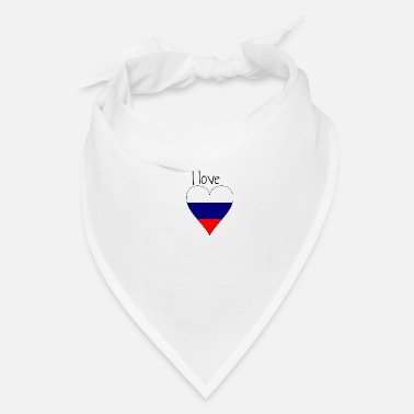 My Favorite Country I love Russia, Gift idea, Russian Flag - Bandana