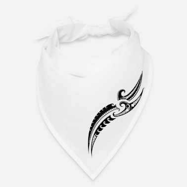 Samoan Tribal Warrior Design - Traditional Polynesian - Bandana