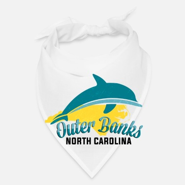 North Sea Sea Animal Gifts - Outer Banks North Carolina - - Bandana