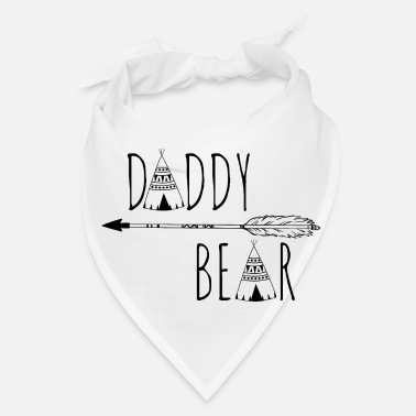 Indian Bear Daddy Bear - Papa Bear - Bandana