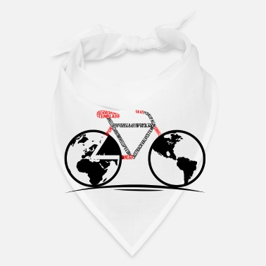 product Bicycle Cool Gifts For Cyclers Globe - Bandana