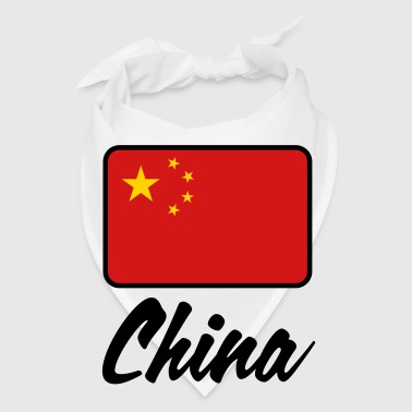 National Flag of China - Bandana