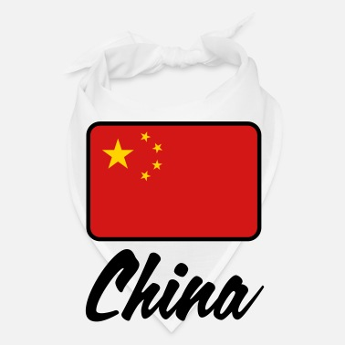 China National Flag of China - Bandana