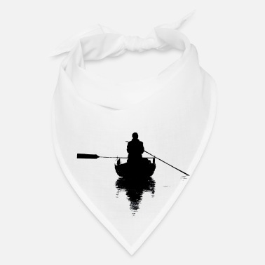 Boat Boat Fisherman Sea Fishing Boat Shovel Gift - Bandana