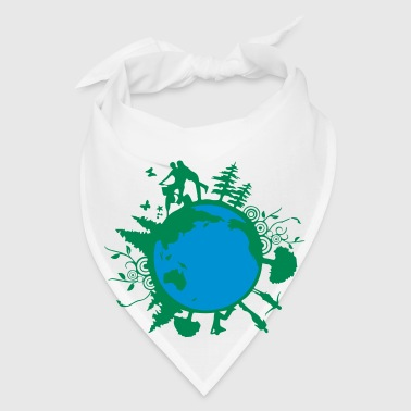 earth day family - Bandana