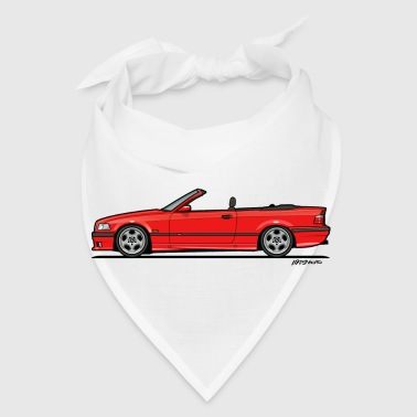 3 Series E36 Red Convertible - Bandana