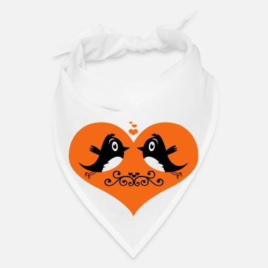 Bird Bird Love - Bandana