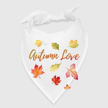 Autumn Love - Nature Outdoor Hiking Mountains Gift - Bandana