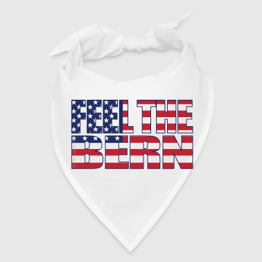 Feel the Bern USA flag - Bandana