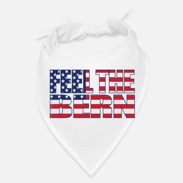 Bern Feel the Bern USA flag - Bandana