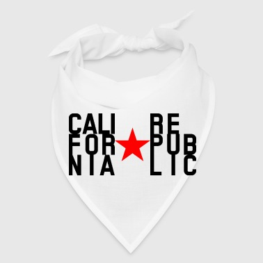 Original Fashion text design California Republic - Bandana