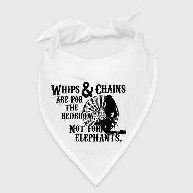Whips and Chains are for the Bedroom - Bandana