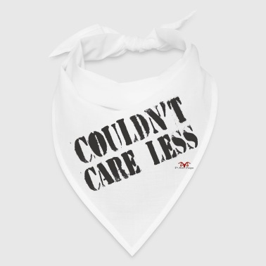 Care Less-light print - Bandana