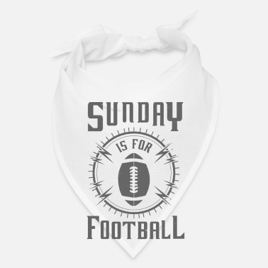 Rugby Sunday is for Football - awesome sports fandom - Bandana