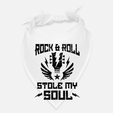 Heavy Metal Rock & Roll stole my Soul - heavy metal - Bandana
