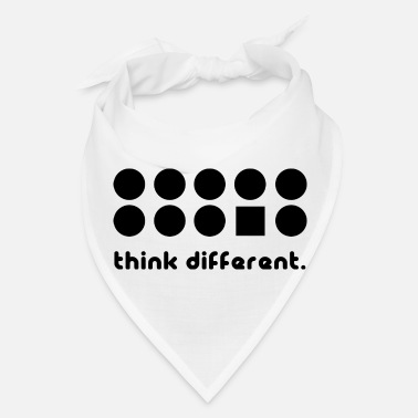 Different THINK DIFFERENT - Bandana