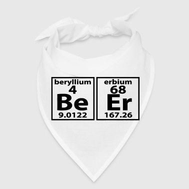 THE BEER ELEMENT PERIODIC TABLE - Bandana