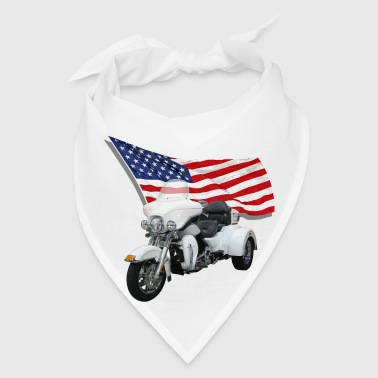 Trike With Flag - Bandana