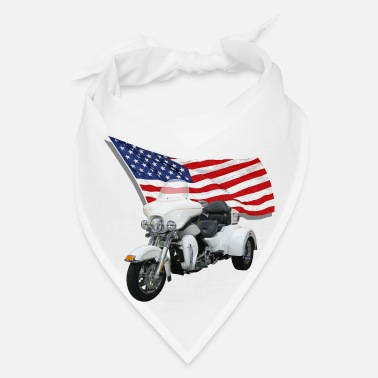 Saddle Trike With Flag - Bandana