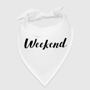 THE WEEKEND - Bandana