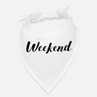 Weekend THE WEEKEND - Bandana