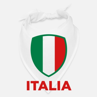 Italian National Flag of Italy - Bandana
