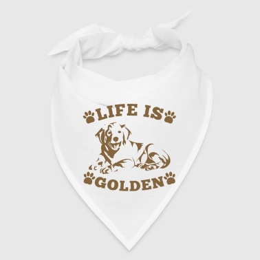 Life is Golden - Bandana