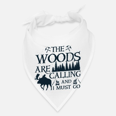 Wilderness The woods are calling - Bandana