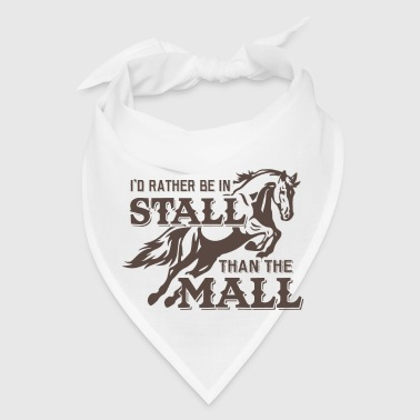 Rather in stall than mall - Bandana