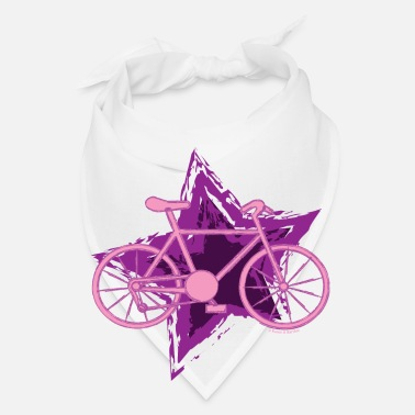 Bike Pink Bike Star - Bandana