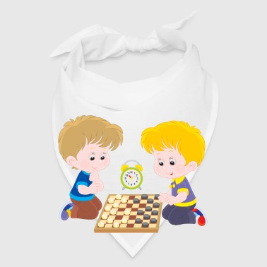 Children play checkers - Bandana