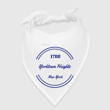 yorktown heights NAVY - Bandana
