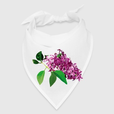 Small Cluster of Pink Lilacs - Bandana