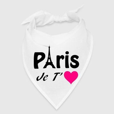 Paris, I love you! - Bandana