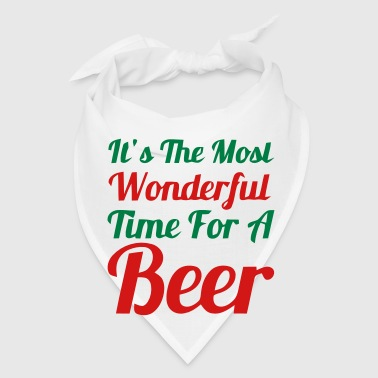 It's the most wonderful time for a Beer! - Bandana