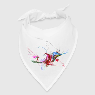 Fractal - Flying Bird - Bandana