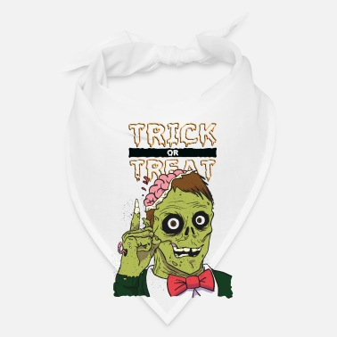 Trick Or Treat Trick or treat zombie. - Bandana