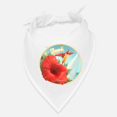 Jaws Jaws Hawaii Surfing Beach - Bandana
