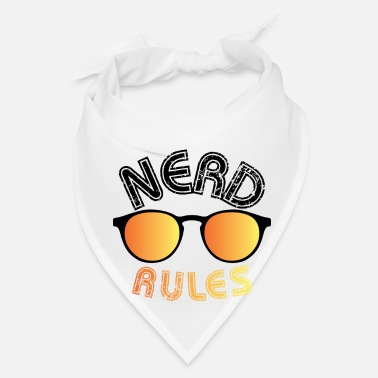 Rock And Rule Nerd Rules - Bandana