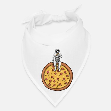 Meal Astro Pizza Space Meal Fastfood - Bandana