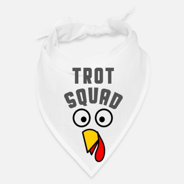 Thankful Turkey Trot Squad Thanksgiving T Shirt - Bandana