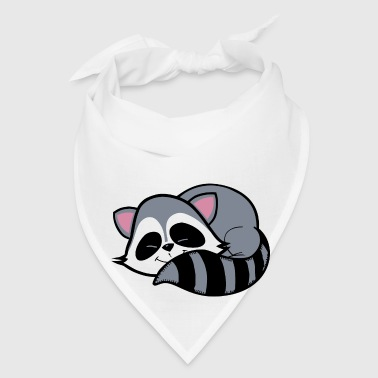 Raccoon - Bandana