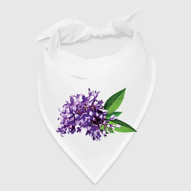 Cluster of Purple Lilacs - Bandana
