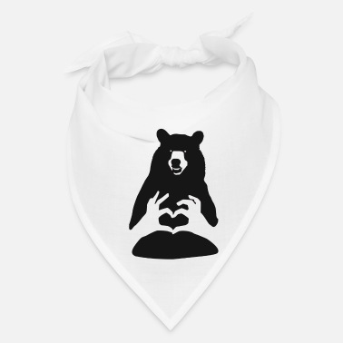 Brown Bear brown bear teddy bear - Bandana