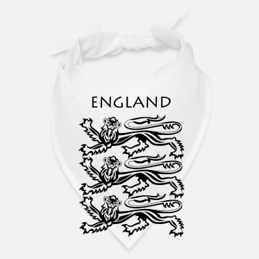 Coat Of Arms England Coat of Arms Black - Bandana