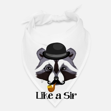 Sir Like A Sir Raccoon / Waschbär - Bandana